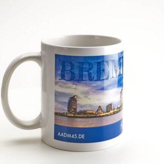Produktbild Fototasse »Bremerhaven Skyline«