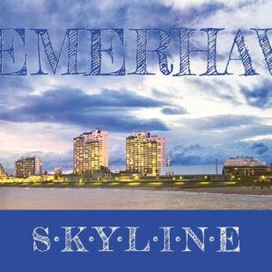 Produktbild Kunstkarte »Bremerhaven Skyline«