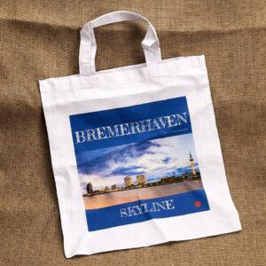 Produktbild Stofftragetasche »Bremerhaven Skyline«