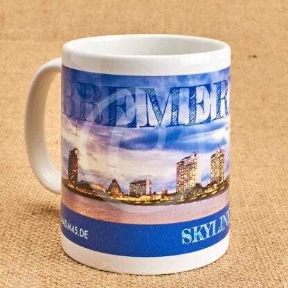 Produkt Fototasse »Bremerhaven Skyline«