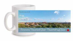 Fototasse »Panorama Töwerland Juist · Töwertied auf Juist«