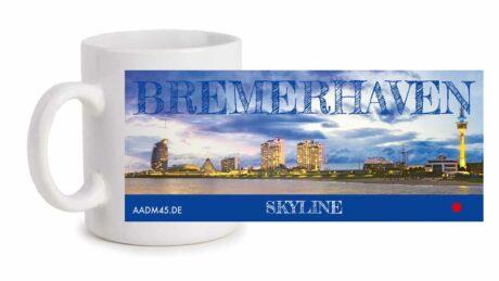 Fototasse »Bremerhaven Skyline«